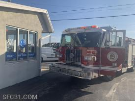 Engine 31-1 on scene at the laundromat.