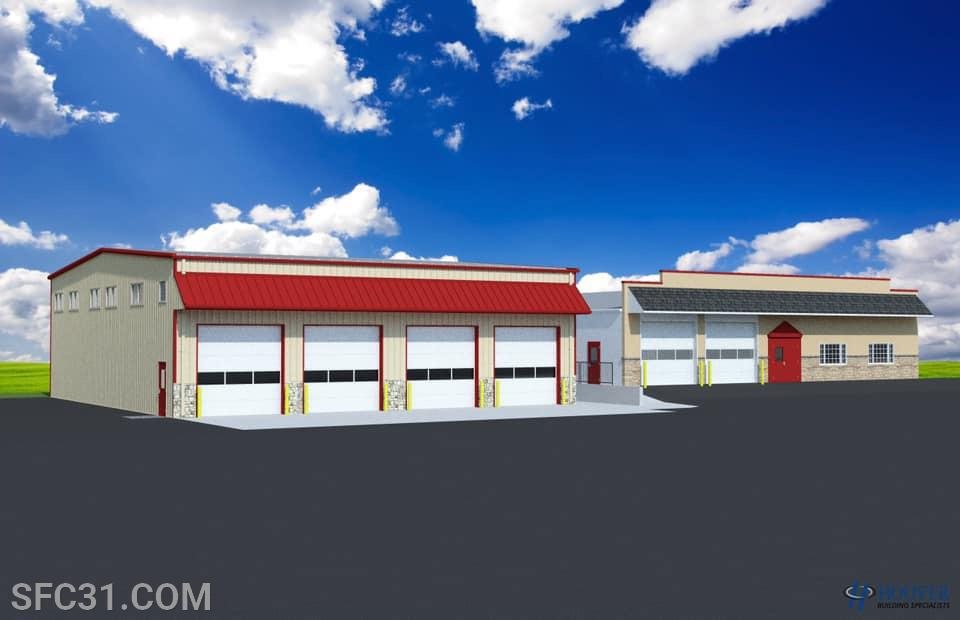 This new expansion will bring all of our apparatus from out of the elements and into being under one roof.
