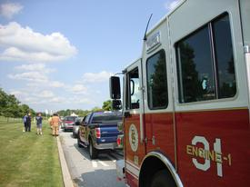 Units responded to an afternoon accident on Business Route 30