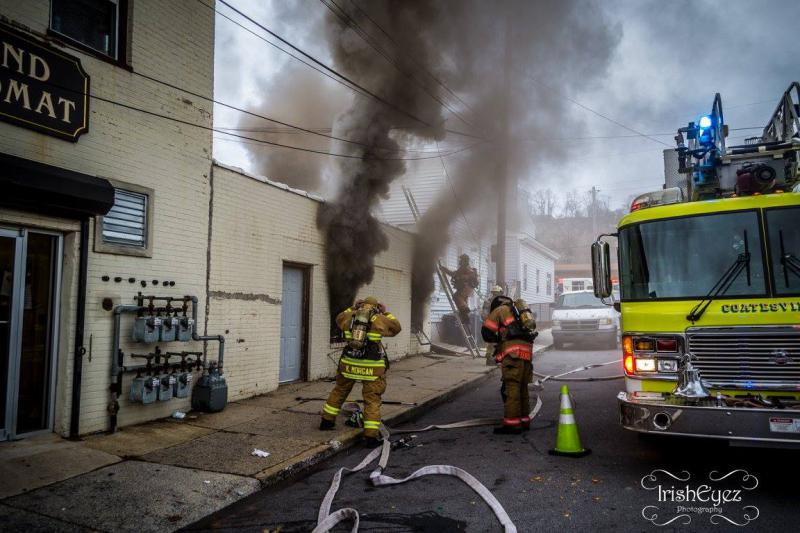 Dual Engine Response to Coatesville on Working Fire