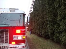 Engine 31-1 on scene of a public service on Octorara Road.