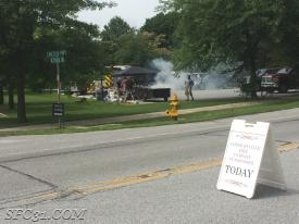 The Barbecue Fundraiser takes place at the corner of Octorara Road and Lincoln Highway (Route 30) in Sadsburyville.
