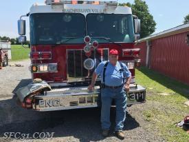 Past Chief Supplee operates Engine 31-1