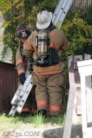 Fire Chief Grossman and Firefighter Allgyer