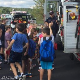Hundreds of kids went through our fire prevention education series for fire prevention week.