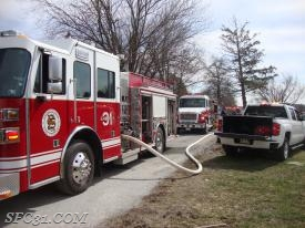 Engine 31-1 being supplied by Engine 31-2