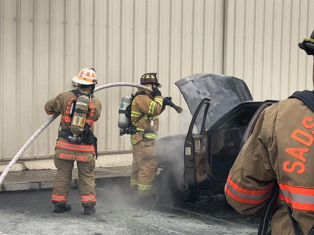 Sadsburyville and Westwood firefighters worked together to extinguish the fire.