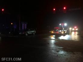 The company also responded to a two vehicle accident in Sadsburyville.